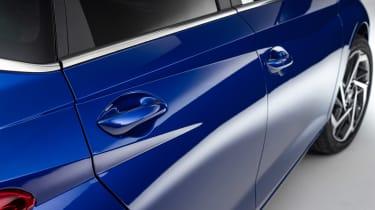 Hyundai i20 - side profile