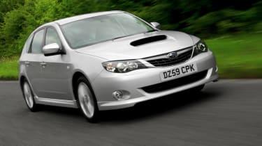 Subaru Impreza front tracking