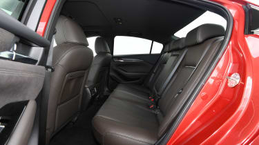 Mazda 6 - rear seats