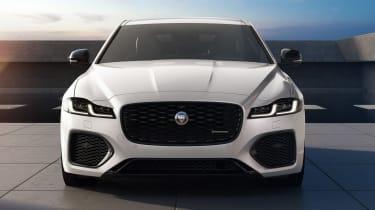 Jaguar XF R-Dynamic Black - full front