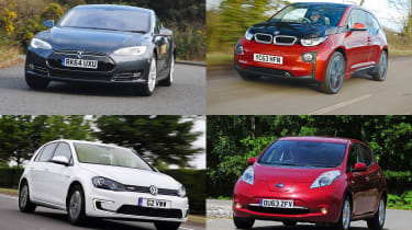 Best used electric cars - header
