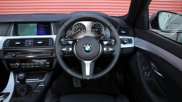 BMW 520d front interior