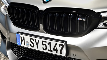 BMW M5 Competition - grille