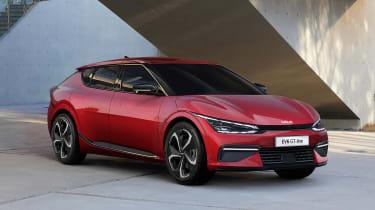 Kia EV6 - red front