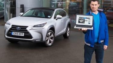 Lexus NX 300h long term test - first service