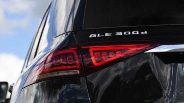 Mercedes GLE - rear lights