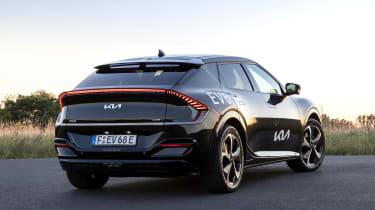 New Kia EV6 2021 review - static rear