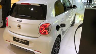 Smart EQ ForFour - Frankfurt rear