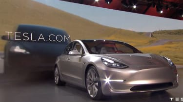 The Tesla Model 3 is likely to go on sale in the UK in 2017.