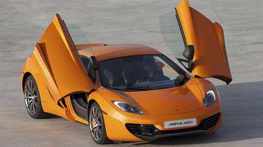 McLaren MP4-12C reviewdoors