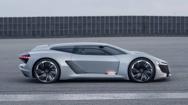 Audi PB18 e-tron concept - side