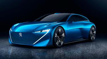 Peugeot Instinct concept - front studio