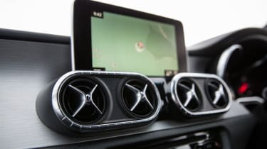 Mercedes X-Class review - infotainment