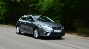 New SEAT Ibiza - front action