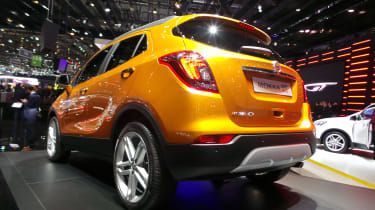 Vauxhall Mokka X Geneva - rear three quarter
