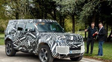 Land Rover Defender - static