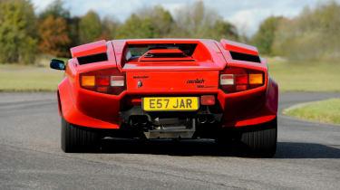 Lamborghini Countach 5000 QV rear cornering
