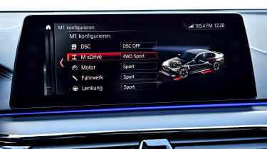 BMW M5 Competition - infotainment