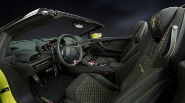 Lamborghini Huracan rear-wheel drive Spyder 4