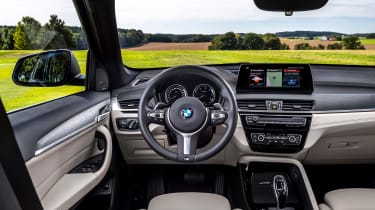 BMW X1 review - interior