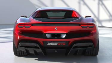 Ferrari 296 GTB - full rear