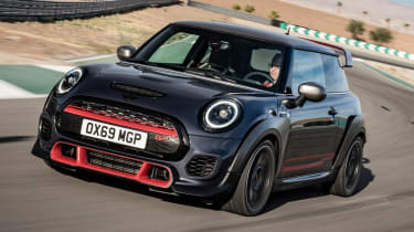MINI John Cooper Works GP - front cornering