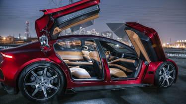 Fisker EMotion - rear/side doors open