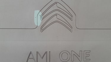 Citroen AMI ONE concept - badge