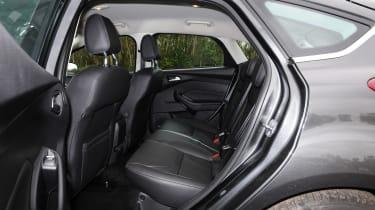 Ford Focus 1.0 EcoBoost Titanium rear seats