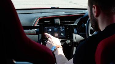 Honda Civic long-term review - infotainment