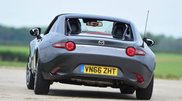 Subaru Impreza rear cornering