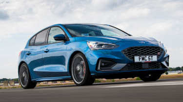 Ford Focus ST - front tracking