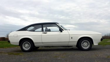 Minder Cars - Capri side profile
