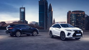 Facelifted Lexus RX - static