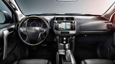 2018 Toyota Land Cruiser facelift interior
