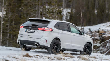 Ford Edge - rear off-road