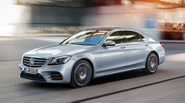 New Mercedes S-Class - front