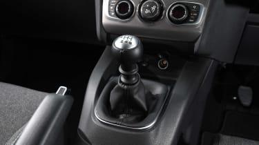 Fiat Tipo vs Skoda Rapid vs Citroen C4 - C4 gearstick