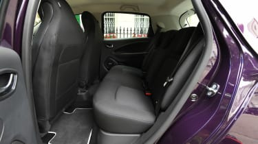Renault ZOE R110 - rear seats
