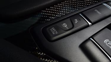 Toyota Supra - centre console