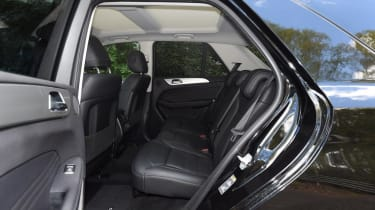 Used Mercedes GLE - rear seats