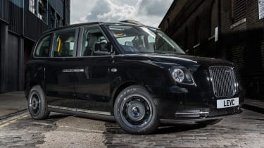 New London Taxi revealed - front