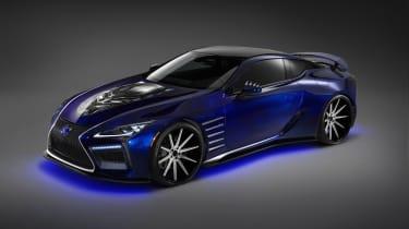 Lexus LC Black Panther Inspired