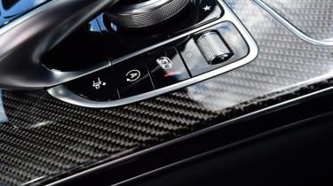 Mercedes C63 AMG saloon - centre console