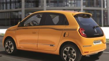 renault twingo facelift rear quarter