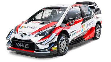 Toyota Yaris WRC - front