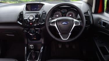 Ford EcoSport Titanium S 2016 - interior