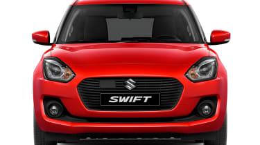 New Suzuki Swift - full front