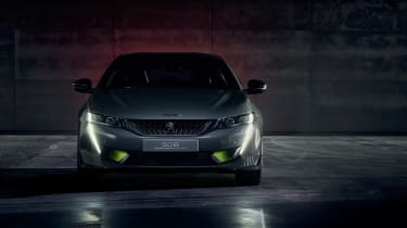 Peugeot 508 Sport Engineered concept - full front dark
