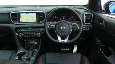 Kia Sportage 48V hybrid - dash